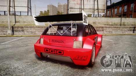 Zenden Cup Ogio para GTA 4 Vista posterior izquierda