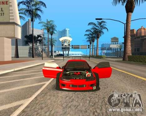 Slivia Red Planet para GTA San Andreas vista hacia atrás