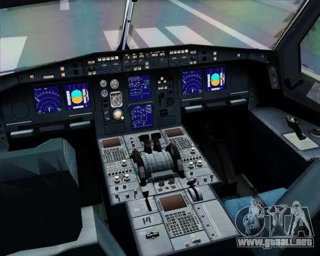 Airbus A330-300 Lufthansa para GTA San Andreas interior