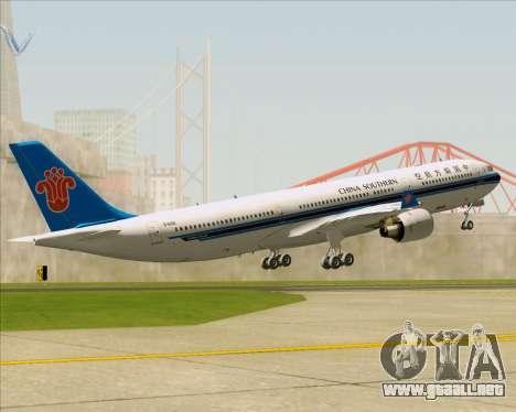 Airbus A330-300 China Southern Airlines para el motor de GTA San Andreas