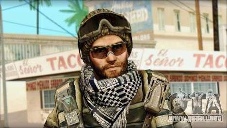Veterano (M) v1 para GTA San Andreas tercera pantalla