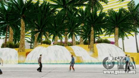 Nuevas texturas de casino Rostro en Las Venturas para GTA San Andreas tercera pantalla