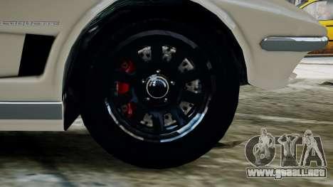 GTA 5 Coquette Classic para GTA 4 Vista posterior izquierda