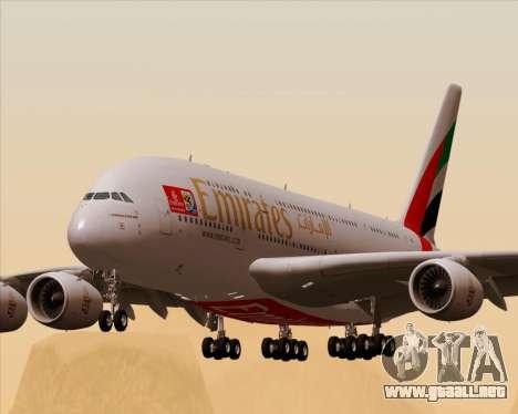 Airbus A380-841 Emirates para GTA San Andreas