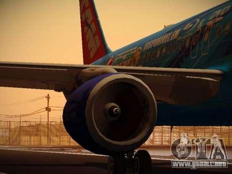 Airbus A320-214 TAM Airlines RIO para el motor de GTA San Andreas