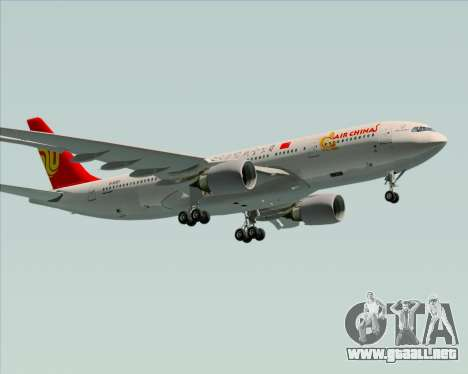 Airbus A330-200 Air China para el motor de GTA San Andreas