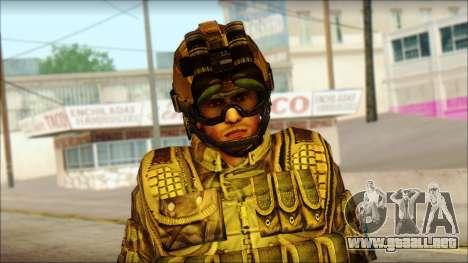 Los soldados de la UE (AVA) v3 para GTA San Andreas tercera pantalla