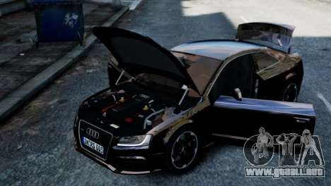 Audi RS5 2011 para GTA 4 visión correcta