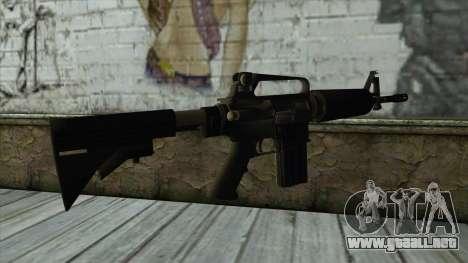 AMCAR B82 From Pay Day 2 para GTA San Andreas segunda pantalla
