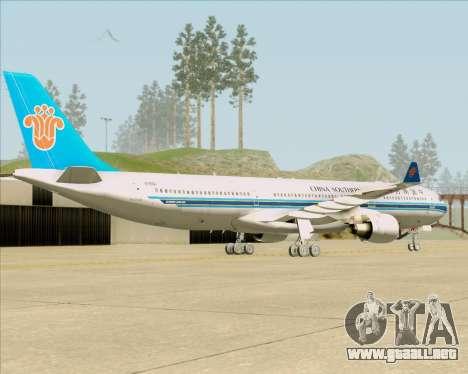 Airbus A330-300 China Southern Airlines para la visión correcta GTA San Andreas