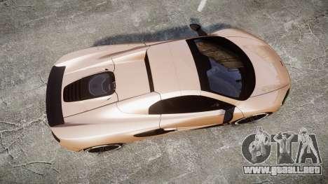 McLaren 650S Spider 2014 [EPM] Pirelli v1 para GTA 4 visión correcta