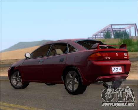 Mazda 323F 1995 para la visión correcta GTA San Andreas