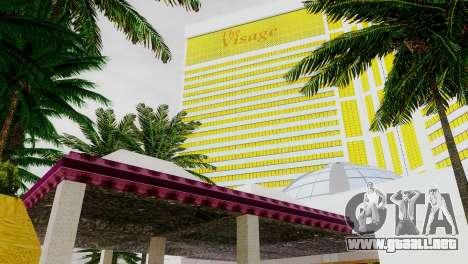 Nuevas texturas de casino Rostro en Las Venturas para GTA San Andreas sexta pantalla