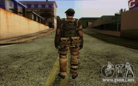 Soldados de MEK (Battlefield 2) de la Piel 5 para GTA San Andreas segunda pantalla