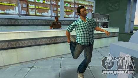 Kockas polo - vilagoskek T-Shirt para GTA Vice City tercera pantalla
