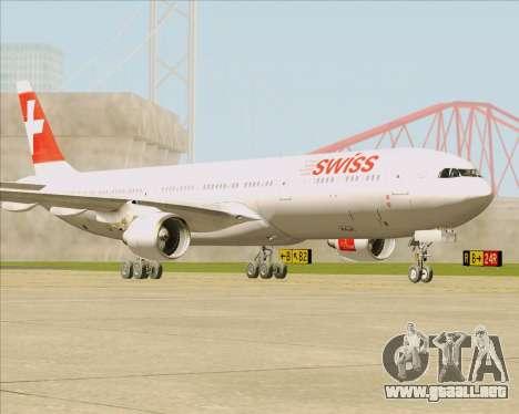Airbus A330-300 Swiss International Air Lines para GTA San Andreas left