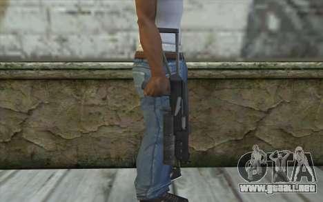 PP-19 Bizon (Battlefield 2) para GTA San Andreas tercera pantalla
