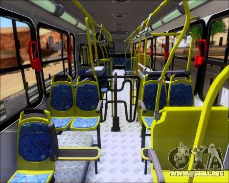 Marcopolo Torino 2007 - Volksbus 17-230 EOD para GTA San Andreas vista hacia atrás