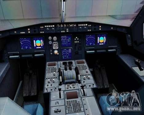 Airbus A330-300 Qantas para GTA San Andreas interior