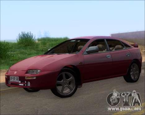 Mazda 323F 1995 para GTA San Andreas left
