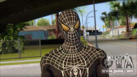 Standart Black Spider Man para GTA San Andreas tercera pantalla