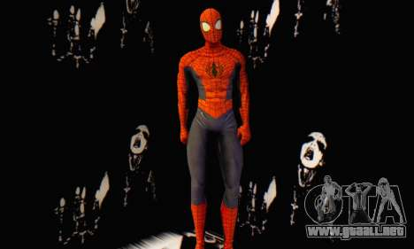 Skin The Amazing Spider Man 2 - Suit Edge Of Tim para GTA San Andreas tercera pantalla
