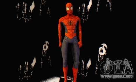 Skin The Amazing Spider Man 2 - Suit Edge Of Tim para GTA San Andreas tercera pantalla