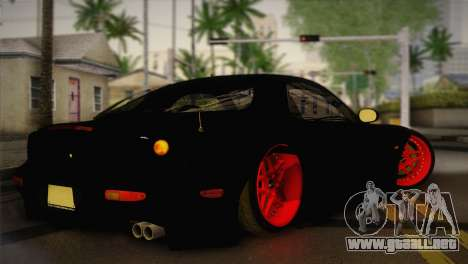 Mazda RX-7 Drift para GTA San Andreas left