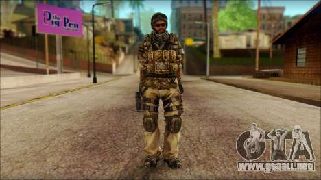 Veterano (M) v1 para GTA San Andreas