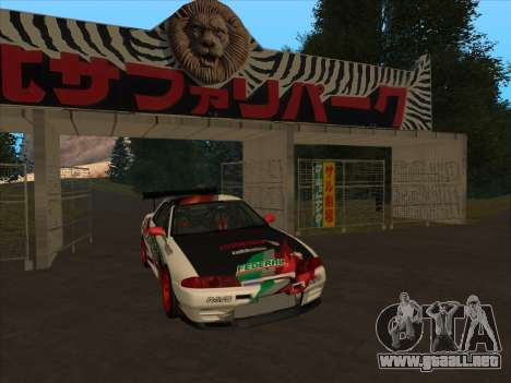 Nissan Skyline R32 Badass para GTA San Andreas left