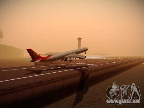 Airbus A340-600 Hainan Airlines para la visión correcta GTA San Andreas