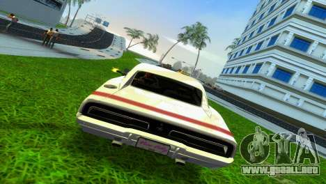 Dodge Charger 1967 para GTA Vice City vista lateral izquierdo