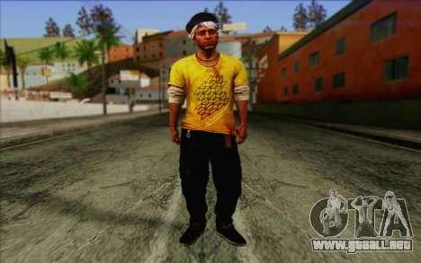 Oliver Carswell para GTA San Andreas