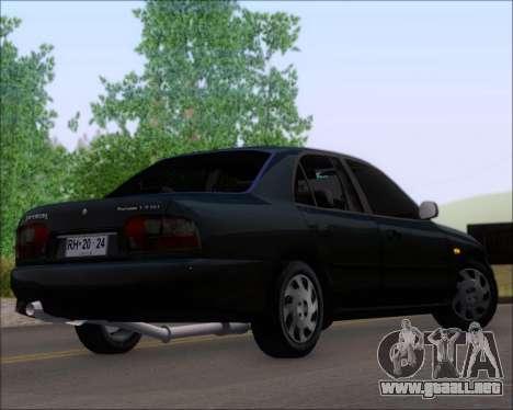 Proton Persona 1996 1.5 Gli para GTA San Andreas left