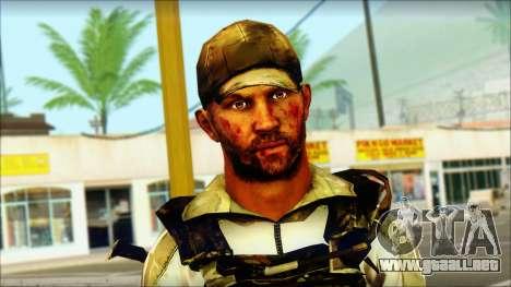 Taliban Resurrection Skin from COD 5 para GTA San Andreas tercera pantalla