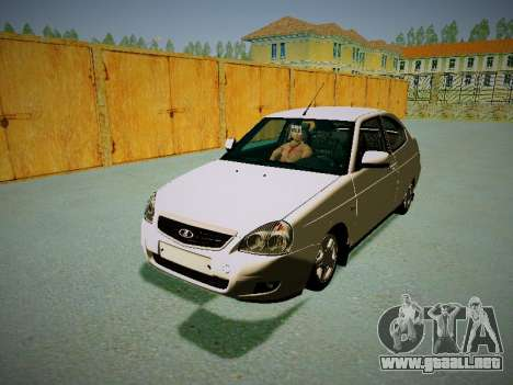 Lada Priora Coupe para GTA San Andreas left