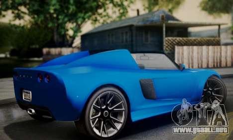 Voltic from GTA 5 para GTA San Andreas left