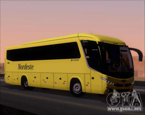 Marcopolo Viaggio G7 Mercedes-Benz OF1724M para GTA San Andreas left