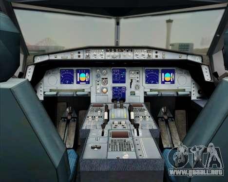 Airbus A330-300 China Southern Airlines para GTA San Andreas interior