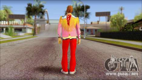 Marty from Back to the Future 1885 para GTA San Andreas segunda pantalla