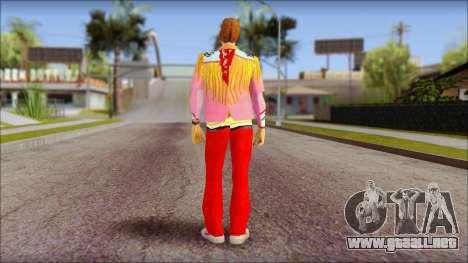 Marty from Back to the Future 1885 para GTA San Andreas segunda pantalla