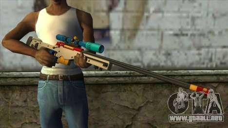 Sniper Rifle from PointBlank v4 para GTA San Andreas tercera pantalla