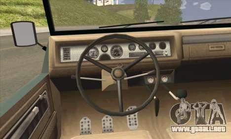 GTA V Canis Kalahari (IVF) para GTA San Andreas vista posterior izquierda