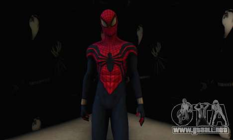 Skin The Amazing Spider Man 2 - Suit Ben Reily para GTA San Andreas quinta pantalla