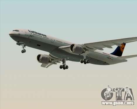 Airbus A330-300 Lufthansa para el motor de GTA San Andreas