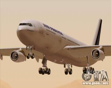 Airbus A340-313 Air France (Old Livery) para GTA San Andreas