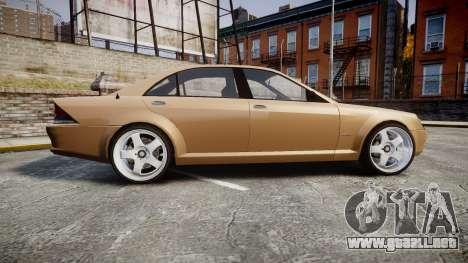 Schafter AMG para GTA 4 left