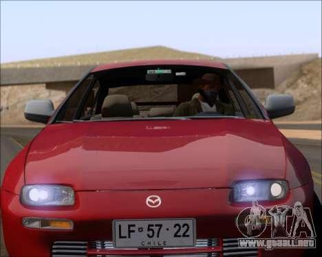 Mazda 323F 1995 para la vista superior GTA San Andreas