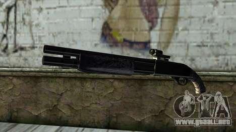 PurpleX Shotgun para GTA San Andreas