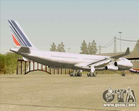 Airbus A340-313 Air France (Old Livery) para la visión correcta GTA San Andreas